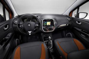 Renault captur notranjost 2013