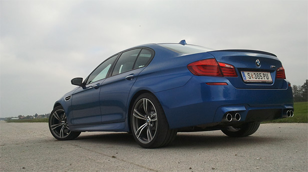 bmw m5 2012 test video