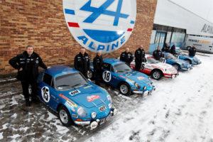 renault alpine rally ekipa 2013