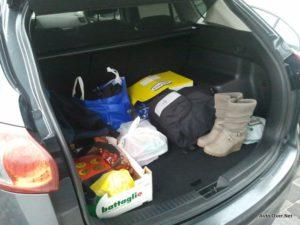 mazda cx-5 prtljažnik 2012