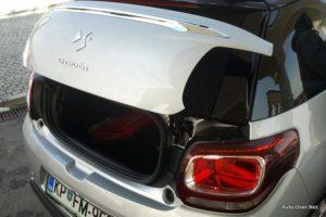 citroen ds3 cabrio prtljažnik 2013 novo doma