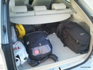 Pri serijskemu Priusu Plug-in je prtljažnik nekoliko večji.