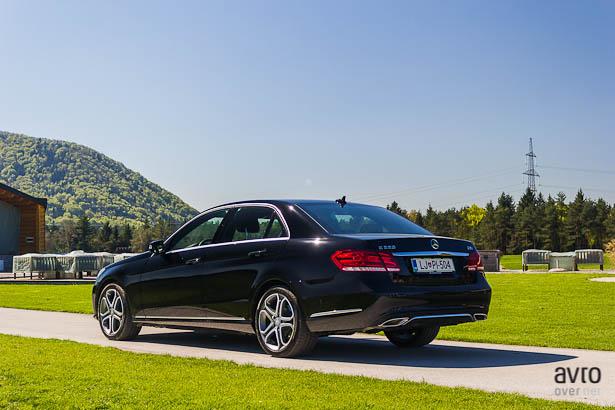 Mercedes-Benz razred E avtonomna vožnja