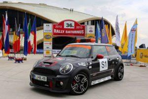 BMW Group Slovenija je za letošnji Rally Saturnus prispeval ekskluzivno varnostno vozilo:  MINI John Cooper Works GP.