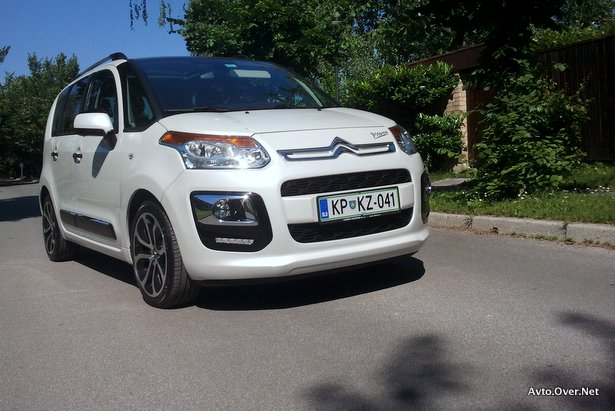 Citroen C3 Picasso Exclusive HDi 115 test 2013