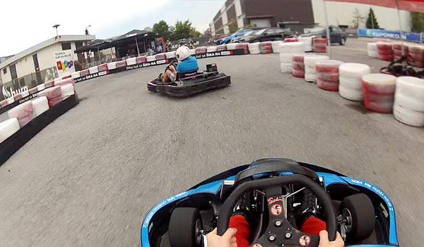 onboard pro karting slovenija 11.7.2013 iztok franko