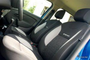 Ne le boljše podvozje, tudi prednja sedeža sta boljša, udobnejša.