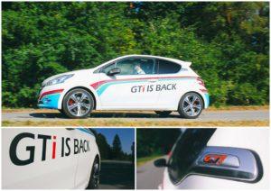 Oznaka GTi se je vrnila v pravem slogu, kar oznanjajo tudi kričeči napisi na avtomobilu.