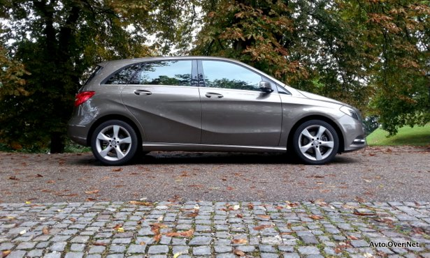 mercedes-benz b 180 CDI 2013 test