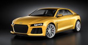 Tako kot Audi Sport quattro je tudi Audi Sport quattro concept zasnovan v duhu motošporta.