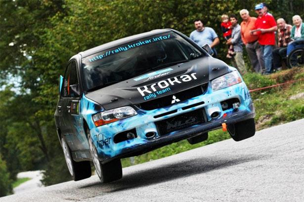 krokar aljosa novak mitsubishi lancer na rally nova gorica 2013