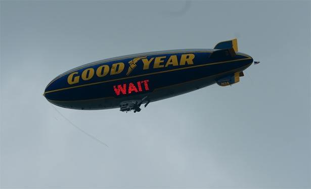 goodyear balon it can wait 2013