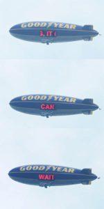 Goodyear se je pridružil projektu »To lahko počaka«, da bi pri ljudeh povečal zavest, kako nevarno je med vožnjo pisati sporočila.