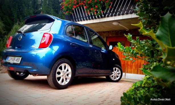 nissan micra acenta look 2013 test
