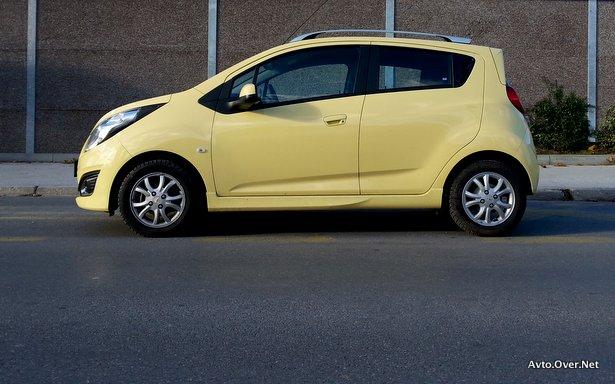 Chevrolet Spark 2013 test