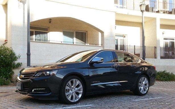 chevrolet impala 3.6 ltz 2013