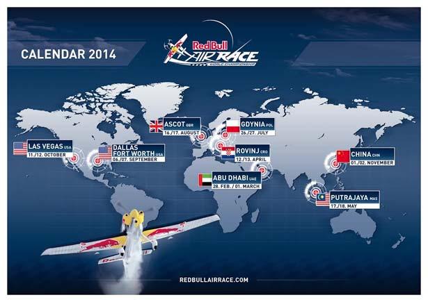 koledar airrace red bull 2014
