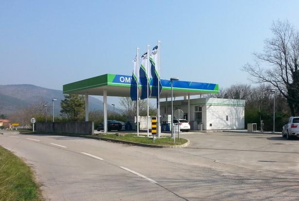 OMV v Brestovici pri Komnu odprl nov bencinski servis