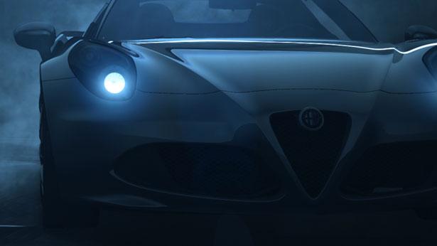 Alfe Romeo 4C