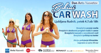 Bikini Car Wash Ljubljana