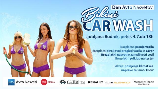 Bikini Car Wash Ljubljana