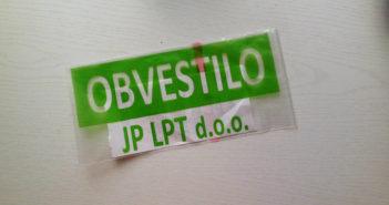 Obvestila JP LPT so postala dober vir prihodkov