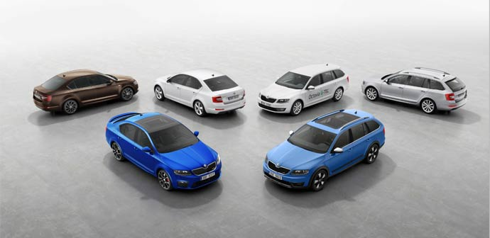 Izdelana milijonta Škoda Octavia tretje generacije