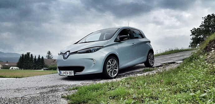 Test: Renault Zoe (električno vozilo)