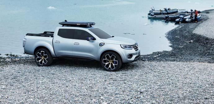 Renault razkriva prototip »show truck« Alaskan (pick-up)