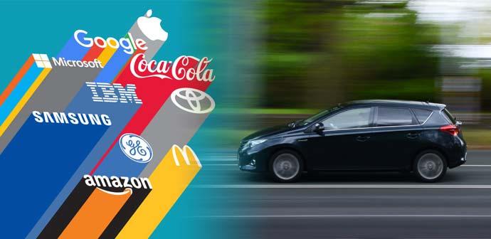 Najboljša avtomobilska blagovna znamka v letu 2015 je …