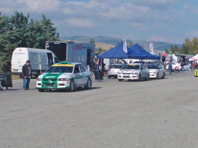 Reli Val d'Orcia je potekal v sklopu makadamskega pokala Raceday