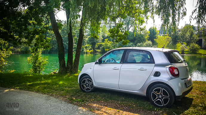 novo mesto in smart forfour