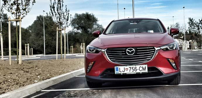 Test: Mazda CX-3 G120 Revolution (športno eleganten crossover)