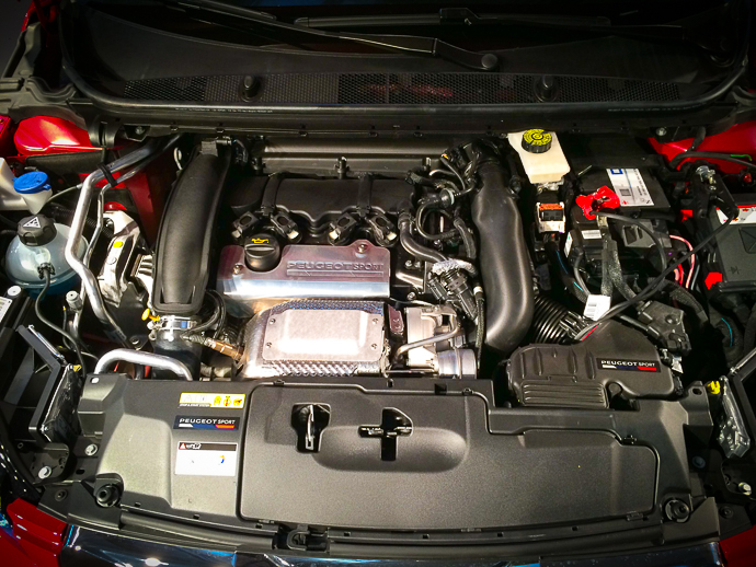 1,6-litrski turbo motor