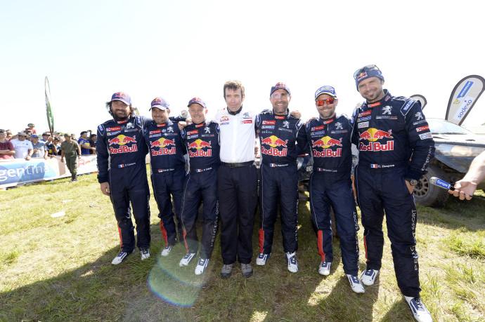 Zmagovalna Peugeotova ekipa