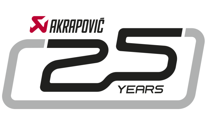 Akrapovic 25 years logo