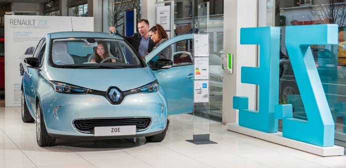 Renault je vodilna znamka električnih vozil v Evropi