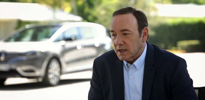 Aleš: Zakaj Kevin Spacey vozi novega Renault Espaca?