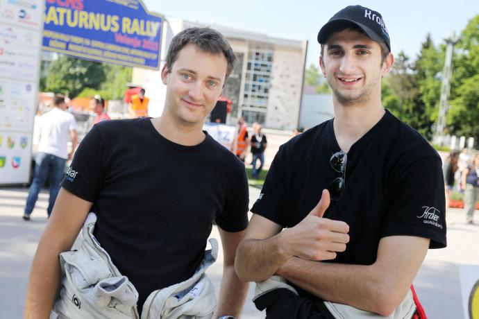 Uroš Ocvirk in Tim Novak