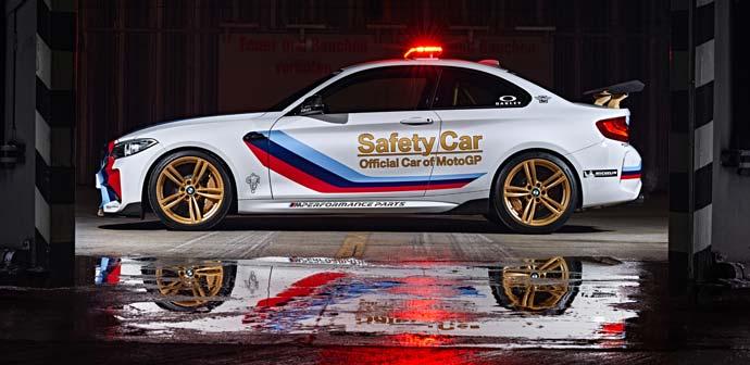 novi motogp safety car bmw m2