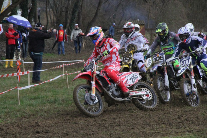 Start dirke MX Open