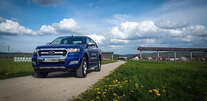 Novo doma: Ford Ranger 2016 4×4 (zmogljivi šarmer)