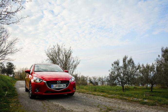 """""""Mala Mazda, ki zmore ..."""" :)"""