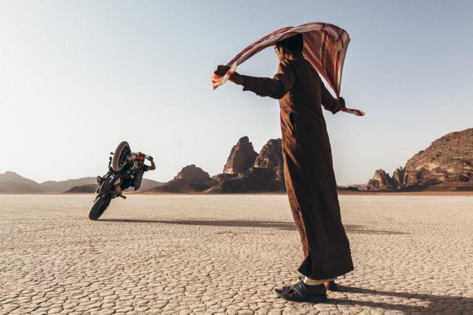 Rok Bagoros v puscavi Wadi Rum_