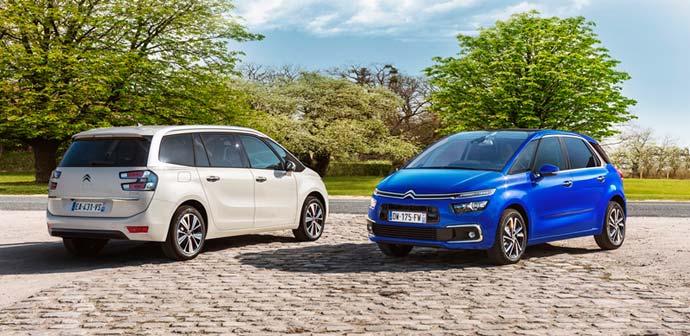 Novo doma: Citroën C4 Picasso in Grand C4 Picasso