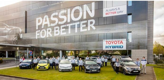 10 milijonov Toyotinih vozil v Evropi