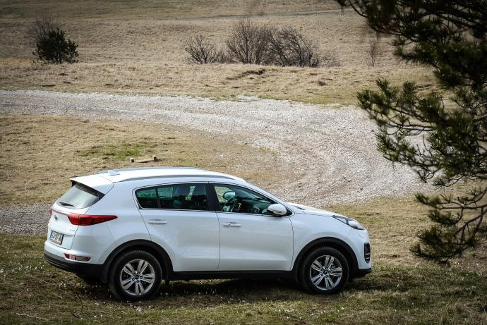 Novi Sportage cilja proti vrhu segmenta kompaktnih SUV-jev