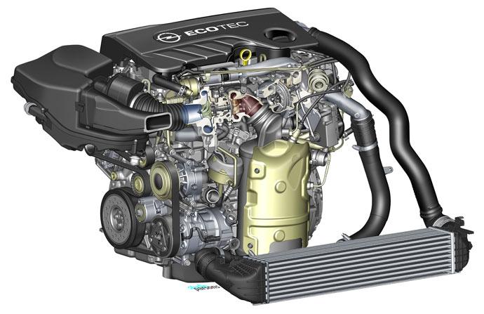 Opel-Astra-biturbo-motor