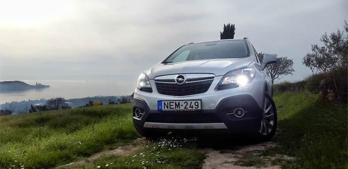 Test: Opel Mokka 1.6 CDTI (odličen motor in povprečna notranjost)
