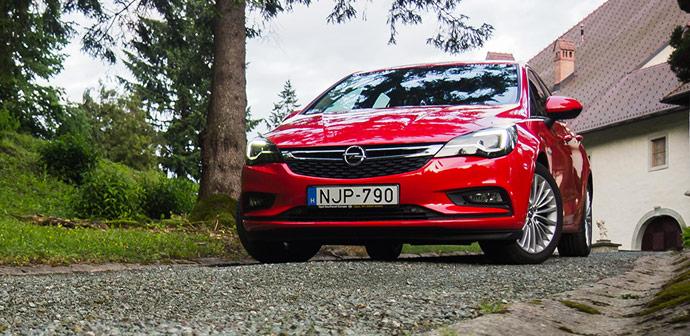 Test: Opel Astra 1.4 Turbo ECOTEC (slovenski avto leta)